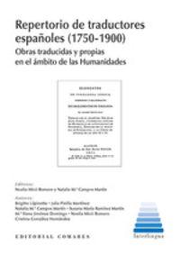 REPERTORIO DE TRADUCTORES ESPAÑOLES (1750-1900)