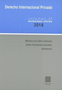 (18 ED) DERECHO INTERNACIONAL PRIVADO II