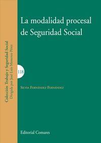 MODALIDAD PROCESAL DE SEGURIDAD SOCIAL