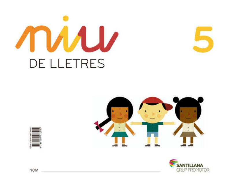 3 ANYS - NIU DE LLETRES 5 (CAT)
