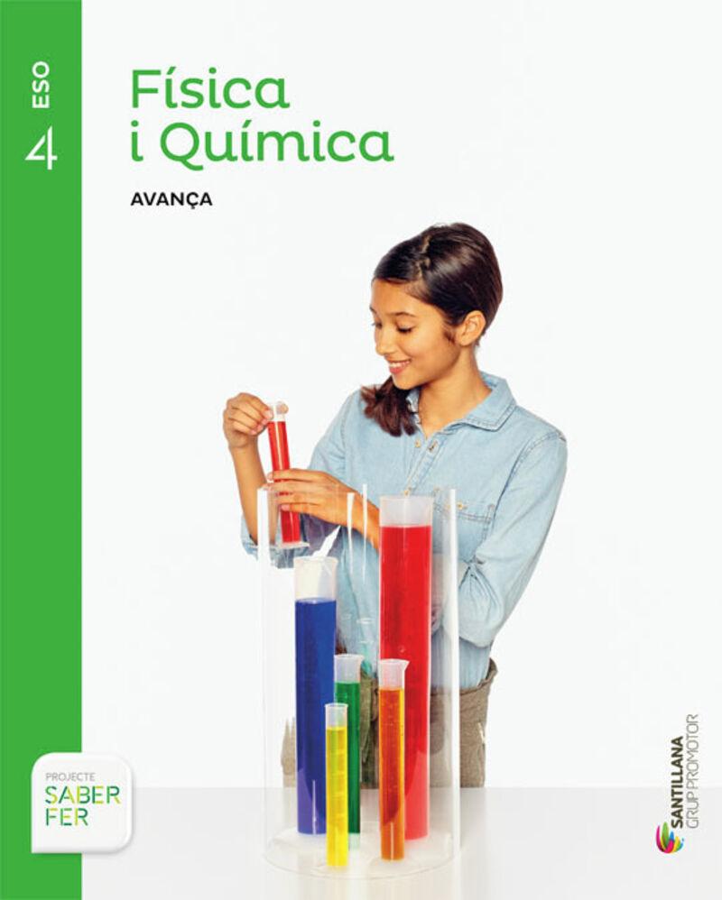 ESO 4 - FISICA I QUIMICA (CAT) - INVESTIGA - AVANÇA - SABER FER