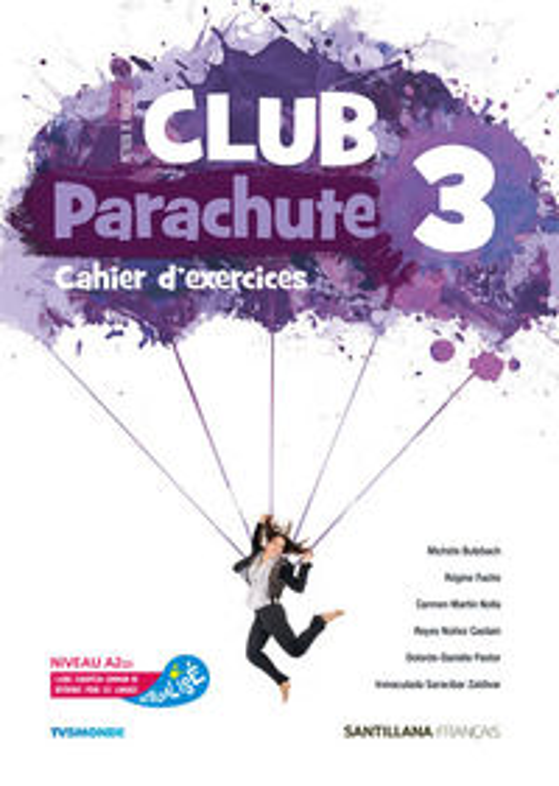 ESO 3 - CLUB PARACHUTE 1 PACK CAHIER