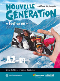 BACH 2 - NOUVELLE GENERATION A2 / B2 (+CAHIER) (+CD+DVD-ROM)
