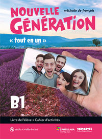 BACH 2 - NOUVELLE GENERATION B1 (+CAHIER) (+CD+DVD-ROM)