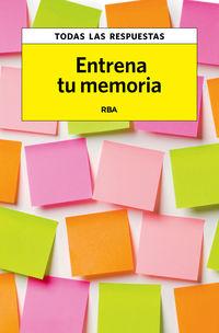 Entrena Tu Memoria - Aa. Vv.