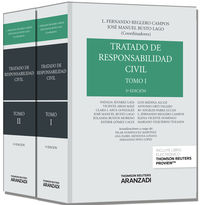 (5ª Ed. )  Tratado De Responsabilidad Civil (2 Vols. )  (+proview) - L. Fernando  Reglero Campos  /  [ET AL. ]