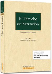 El  derecho de rentencion (+proview) - Iñigo Mateo Y Villa