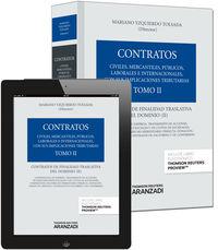 Contratos Ii - Contratos De Finalidad Traslativa Del Dominio (+proview) - Mariano Yzquierdo Tolsada