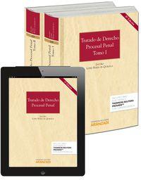 (6ª ED. )  TRATADO DE DERECHO PROCESAL PENAL (2 VOLS. )  (+PROVIEW)