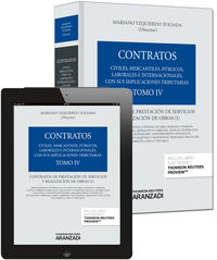 Contratos Iv - Contratos De Prestacion De Servicios Y Realizacion De Obras I (+proview) - Mariano Yzquierdo Tolsada