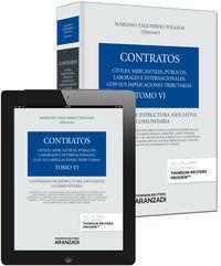 Coleccion Contratos (tomo Vi)  - Contratos De Estructura Asociativa O Comunitaria (+proview) - Mariano Yzquierdo Tolsada