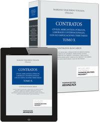 Contratos X - Contratos Bancarios (+proview) - Mariano Yzquierdo Tolsada