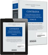 Contratos Xi - Contratos Del Mercado De Valores (+proview) - Mariano Yzquierdo Tolsada