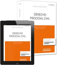 (13ª Ed. )  Derecho Procesal Civil (+proview) - Manuel  Ortells Ramos