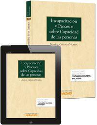 Incapacitacion Y Procesos Sobre Capacidad De Las Personas (+proview) - Manuel Cerrada Moreno