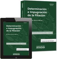 Determinacion E Impugnacion De La Filiacion (+proview) - Susana Quicios