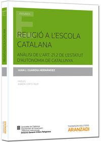 RELIGIO A L'ESCOLA CATALANA