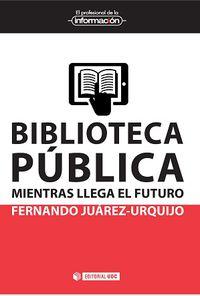 biblioteca publica - mientras llega el futuro - Fernando Juarez-Urquijo
