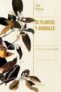 De Plantas Y Animales - Ida Vitale