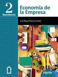 Bach 2 - Economia De La Empresa 2º Bachillerato (and, Ceu, Mel) - Jose Miguel Ridao Gonzalez