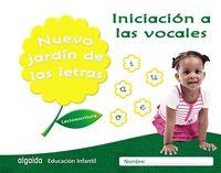 3 AÑOS - NUEVO JARDIN DE LAS LETRAS -INICIACION A LAS VOCALES