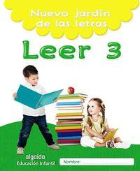 5 AÑOS - NUEVO JARDIN DE LAS LETRAS - LEER 3