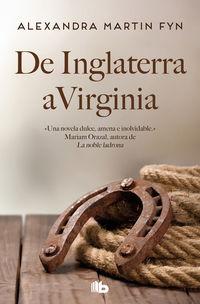 De Inglaterra A Virginia (los Mcleod 1) - Alexandra Martin Fynn