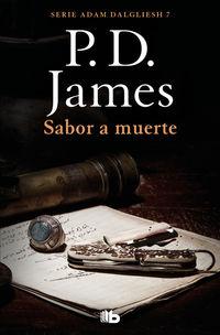 Sabor A Muerte (adam Dalgliesh 7) - P. D. James