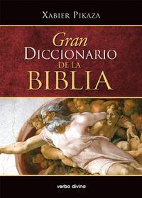 Gran Diccionario De La Biblia - Xabier Pikaza Ibarrondo