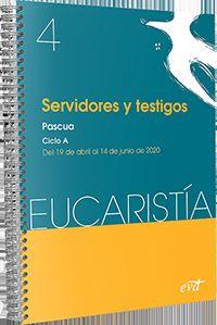 SERVIDORES Y TESTIGOS - PASCUA Y TIEMPO ORDINARIO - CICLO A - 19 DE ABRIL AL 14 DE JUNIO DE 2020
