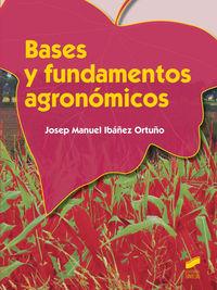 Cf - Bases Y Fundamentos Agronomicos - Josep Manuel Ibañez Ortuño