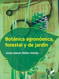 CF - BOTANICA AGRONOMICA, FORESTAL Y DE JARDIN