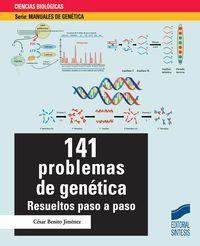 141 PROBLEMAS DE GENETICA - RESUELTOS PASO A PASO