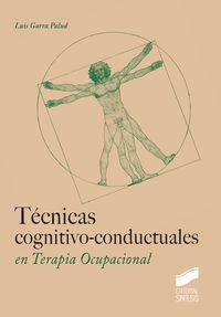 TECNICAS COGNITIVO-CONDUCTUALES EN TARIPIA OCUPACIONAL