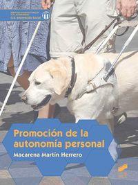 GS - PROMOCION DE LA AUTONOMIA PERSONAL - INTEGRACION SOCIAL