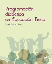 PROGRAMACION DIDACTICA EN EDUCACION FISICA