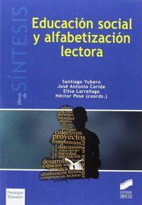EDUCACION SOCIAL Y ALFABETIZACION LECTORA