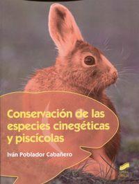GM - CONSERVACION DE LAS ESPECIES CINEGETICAS Y PISCICOLAS