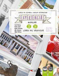EXPERIENCIAS 13 - 14 (B2) - LIBRO DEL PROFESOR