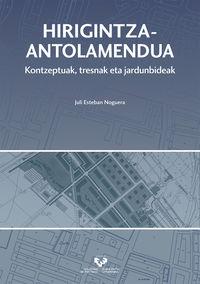 HIRIGINTZA-ANTOLAMENDUA - KONTZEPTUAK, TRESNAK ETA JARDUNBIDEAK