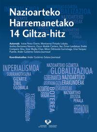 NAZIOARTEKO HARREMANETAKO 14 GILTZA-HITZ