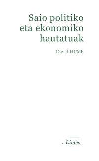 Saio Politiko Eta Ekonomiko Hautatuak - David Hume