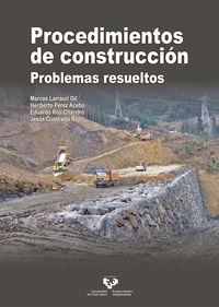 PROCEDIMIENTOS DE CONSTRUCCION - PROBLEMAS RESUELTOS