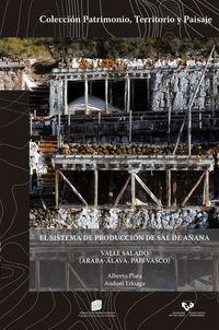 Sistema De Produccion De Sal De Añana Valle Salado, El (araba-Alava. Pais Vasco) = Salt Production System Of Añana, Valle Salado, The (araba-Alava. Basque Country) - Alberto Plata / Andoni Erkiaga