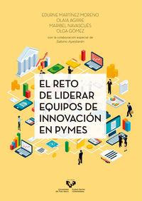 RETO DE LIDERAR EQUIPOS DE INNOVACION EN PYMES, EL