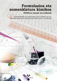 Formulazioa Eta Nomenklatura Kimikoa - Iupacen Arauak Eta Ariketak - Garikoitz Beobide (ed. )