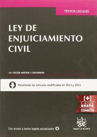 (26ª ED) LEY DE ENJUICIAMIENTO CIVIL