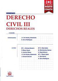 (4ª Ed) Derecho Civil Iii - Derechos Reales - J. R. De Verda Y Beamonte / [ET AL. ]