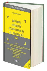 Los (4 ed)  juicios verbales de desahucio en la ley de enjuiciamiento civil - Jose Garberi Llobregat