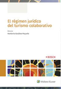 REGIMEN JURIDICO DEL TURISMO COLABORATIVO, EL